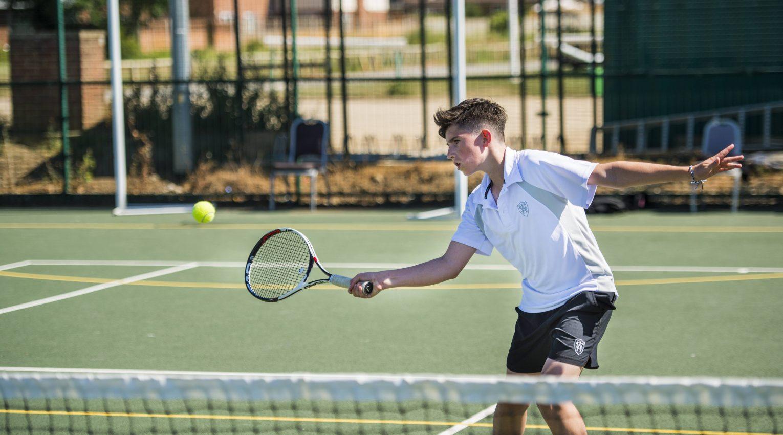 Tennis at Wetherby Senior School