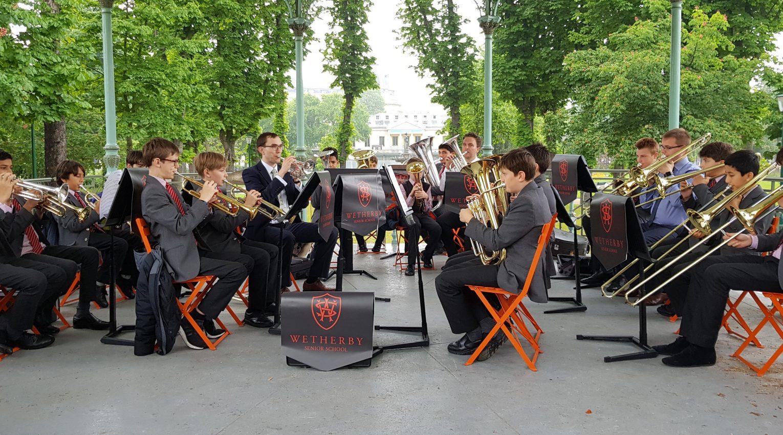 brass band tour