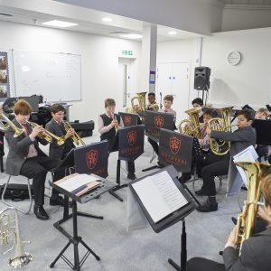 Music Room at Wetherby Senior School